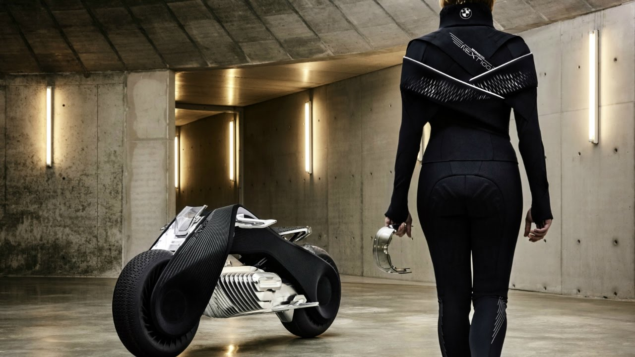 bmw vision next 100 electric motorcycle - youtube