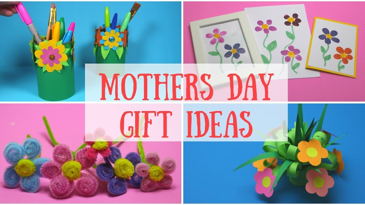 Diy Mothers Day Gift Ideas Mothers Day Crafts For Kids Youtube