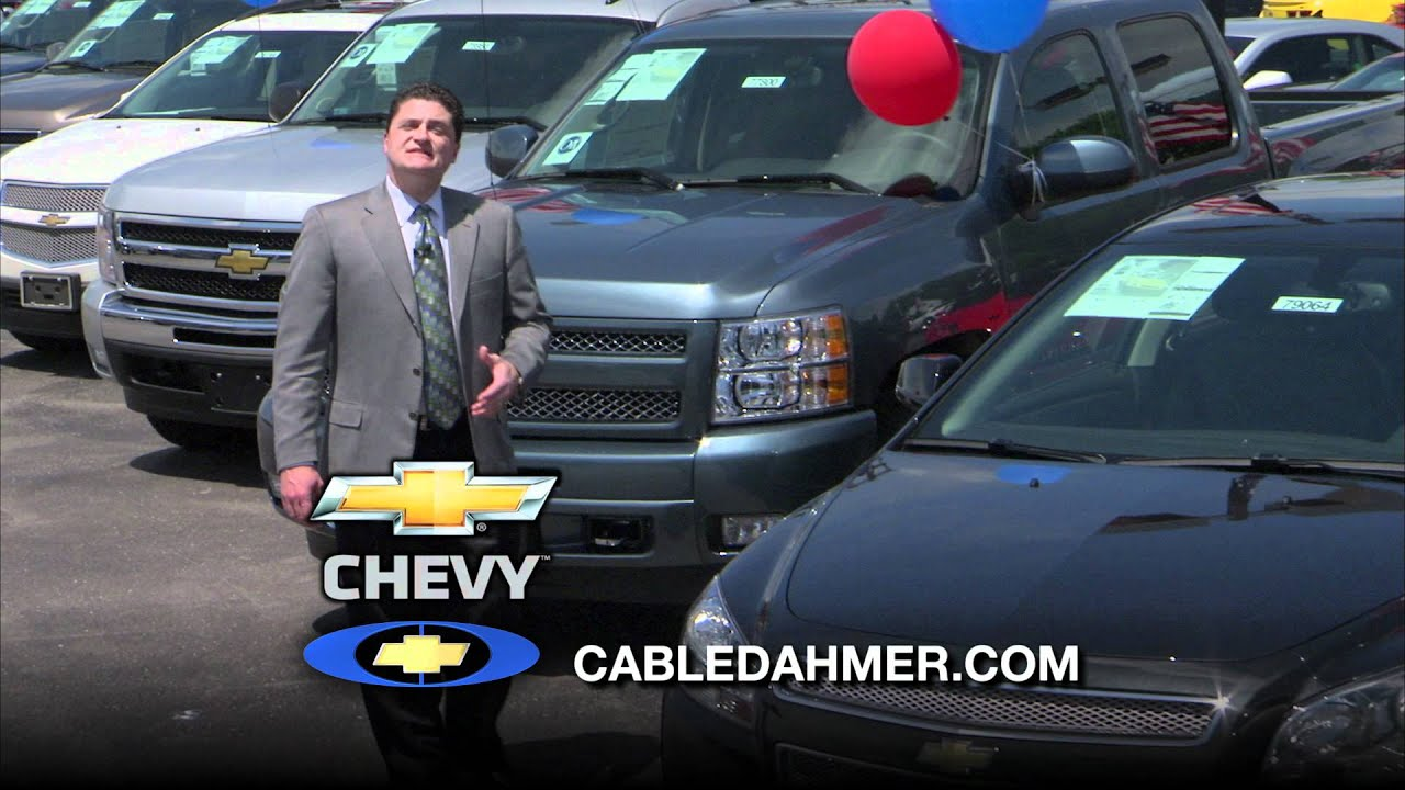 So remember if you wanna Chevy Think Cable Dahmer