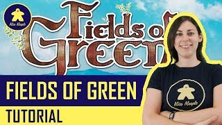 Fields Of Green Tutorial - Gioco da Tavolo - La ludoteca #30