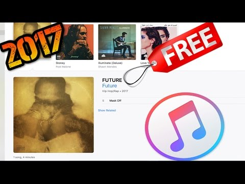 How To Get FREE Songs On iTunes WITH ALBUM ART!!!! 2017