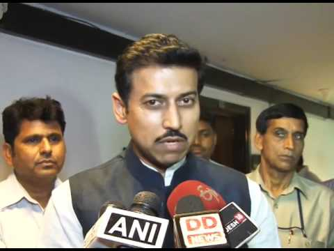 MoS I&B Rajyavardhan Singh Rathore speaks on train stoppage facilities at Phulera & Renwal