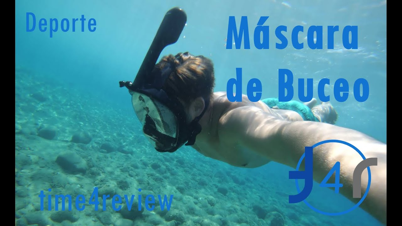 abf61f54a Máscara de buceo Review ESPAÑOL - YouTube