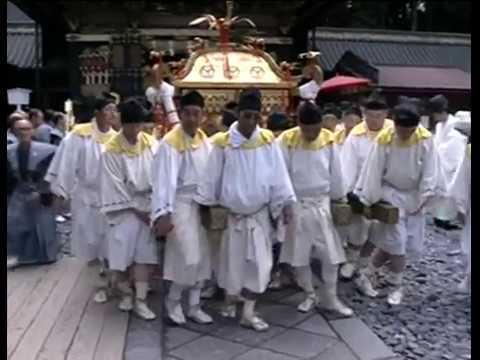The Ark of the Covenant Japanese style Ковчег Завета (микоси) по-японски