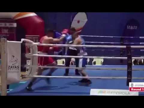 Resumen de las peleas del boxeador palmero Diego San Juan Díaz en el Campeonato Nacional de Clubes 2021