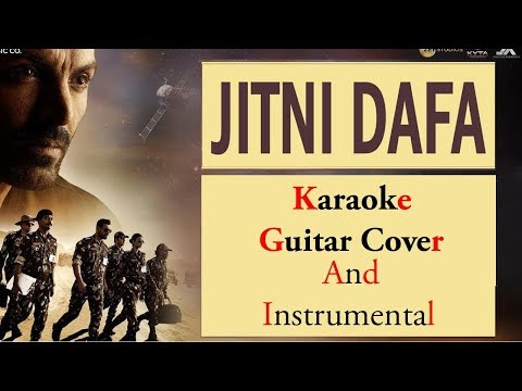 Jitni DafaRingtone, Instrumental AndKaraoke - Unplugged Guitar Cover - Download Free