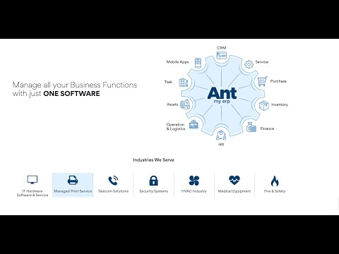 How to Create your Company to Start using Antmyerp