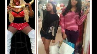 Afrocandy shows off her daughters and some craze