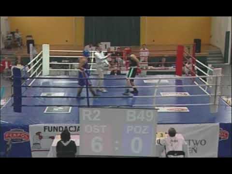 Boks SODÓR vs WALIGÓRA walka nr 49 ćwierćfinałów XVII MMP Ostrołęka 2009