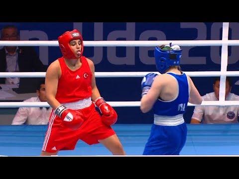 QF (W69kg) SURMENELI Busenaz (TUR) vs DESMOND Christina (IRL) /AIBA WWCHs Ulan U