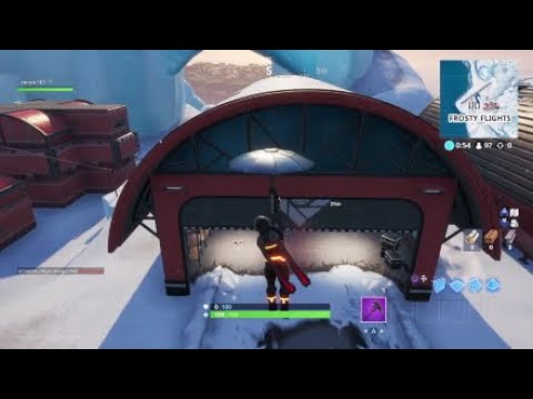 Fortnite - Search Ammoboxes In The Snow Biome, Easy Location Guide!