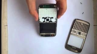 Nokia E72 Brown Чистка слухового динаміка
