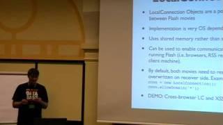 DeepSec 2007: Flash Security Basics