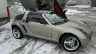 smart roadster & suzuki gsx 1300R from PECOSAUTO