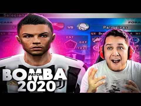 Joguei BOMBA PATCH 2020 No PS2! O Melhor De TODOS?! 😍🔥