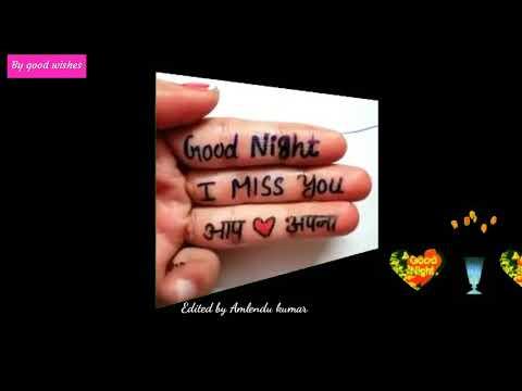 Good night watsup status video and song...chhode ke hum apano ko ...