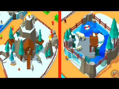 Idle Zoo Tycoon! MAX LEVEL ALL ANIMALS EVOLUTION Idle Zoo Tycoon 3D - Animal Park