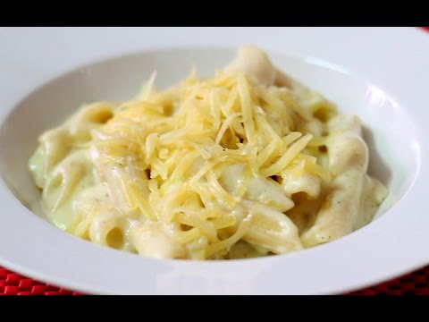 How to make Penne Pasta -  Pasta in White Sauce - Quick Pasta in White Sauce Recipe