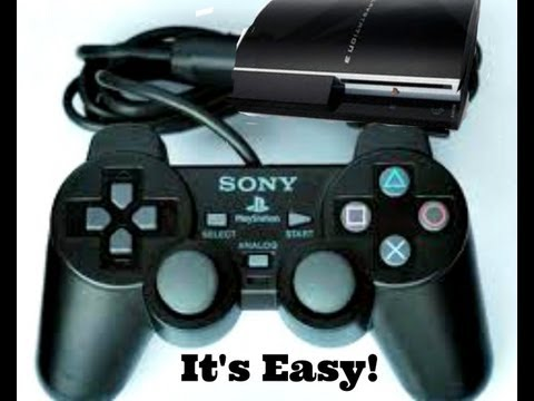 How to use PS2 controller on PS3 and PC