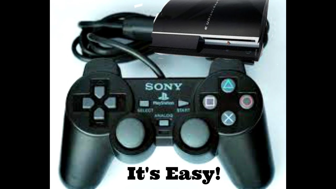 How to use PS2 controller on PS3 and PC - YouTube