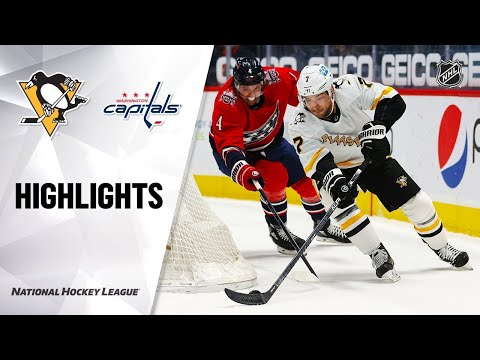 Pittsburgh Penguins vs Washington Capitals | Feb.23, 2021 | Game Highlights | NHL 2021 | Обзор матча