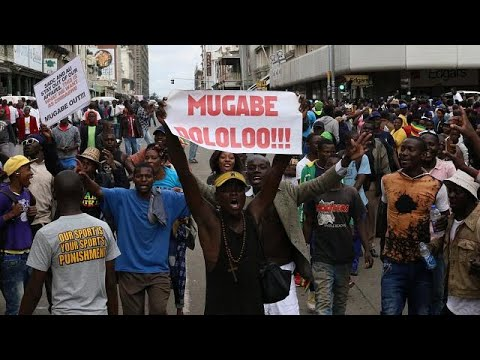 Zimbabwe President Robert Mugabe fired as ruling ZANU-PF party leader, replaced by Emmerson…