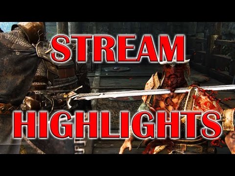 For Honor - Stream Highlights! - High Level Warden