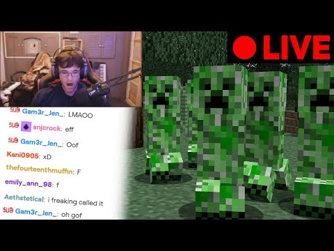 I Donated 100 Creepers To This Streamer To RUIN Their Minecraft World...
