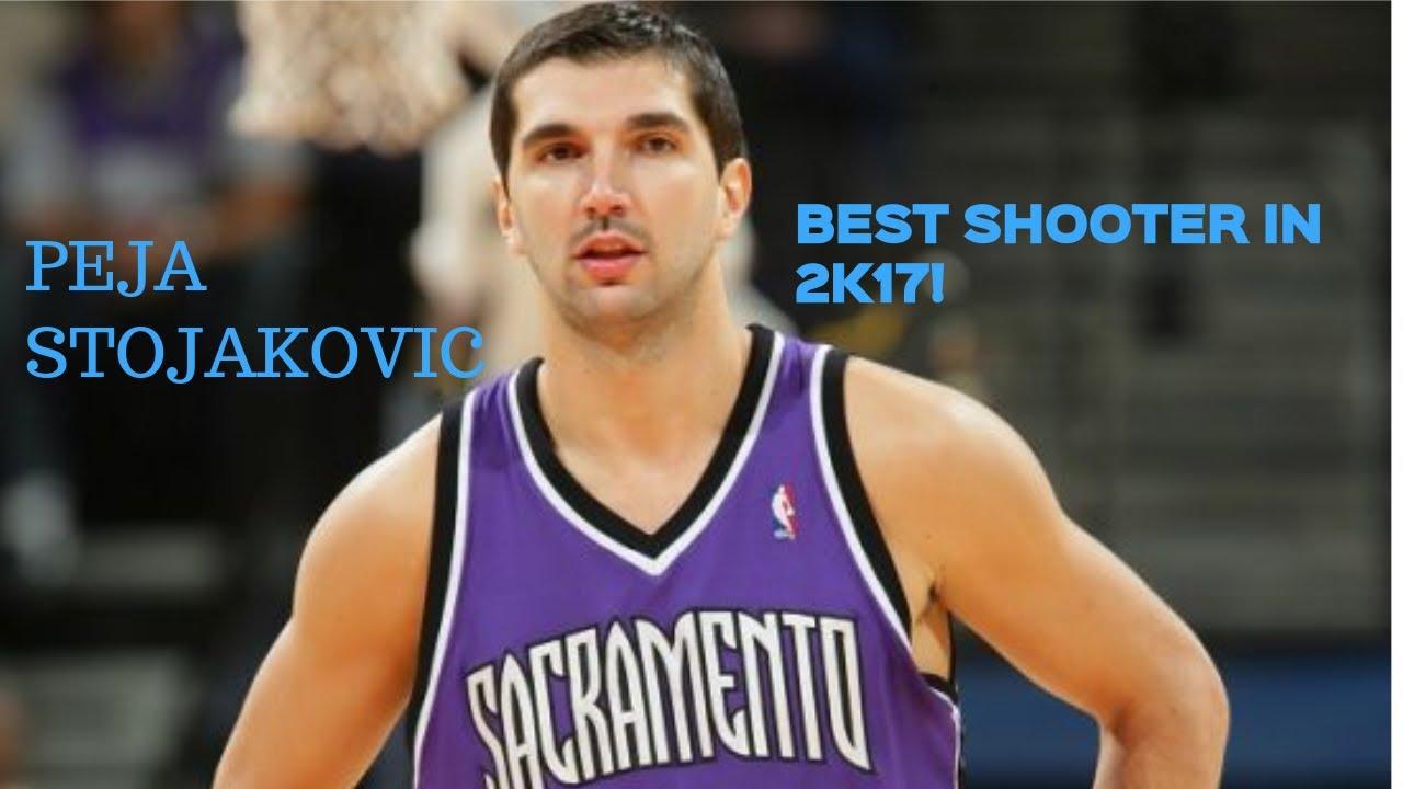 BEST SHOOTER IN 2K17 DIAMOND PEJA STOJAKOVIC