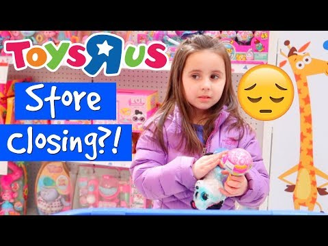 Toys R Us LAST Toy Hunt? *STORE CLOSING*?!? | ThePlusSideOfThings