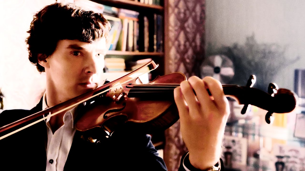 What musical instrument did sherlock holmes play