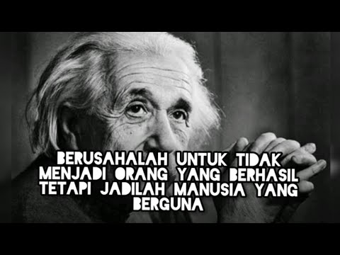 Kumpulan Kata Kata Bijak Albert Einstein Ilmuwan Bersejarah Youtube