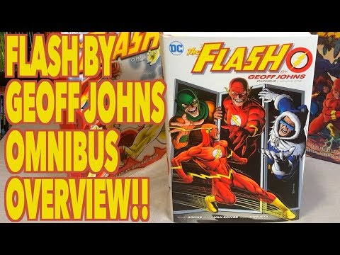 The Flash by Geoff Johns Omnibus Vol. 1 (NEW PRINTING) Overview & Comparison!
