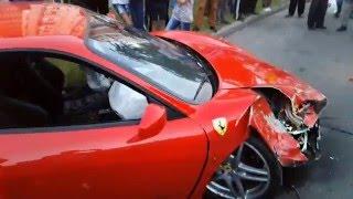 Дтп Чернигов Одинцова 13 Ferrari 29.06.15(, 2016-03-28T19:51:12.000Z)