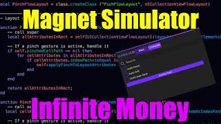 Magnet Simulator Unlimited Money Hack Roblox Pain Exist Script R Us