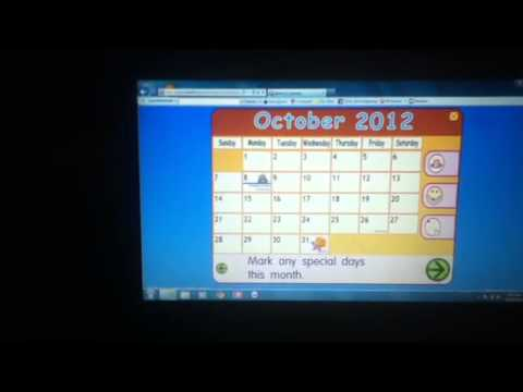 Starfall Calendar Of October 2012 - YouTube