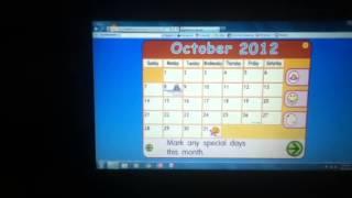 Starfall Calendar Of October 2012
