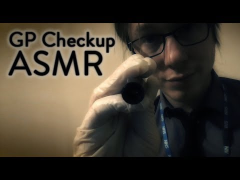 GP Checkup ASMR (Medical Exam With Doctor Roberts)