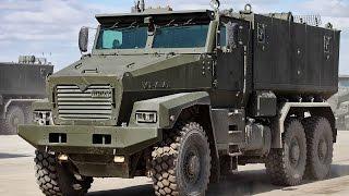 УРАЛ ТАЙФУН 63095 обзор бронеавтомобиля, современная военная техника России 2015