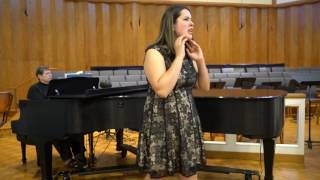 Gabriella Pavon Singing Anyone Can Whistle