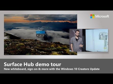 Updates to Microsoft Surface Hub with Windows 10 Creators Update
