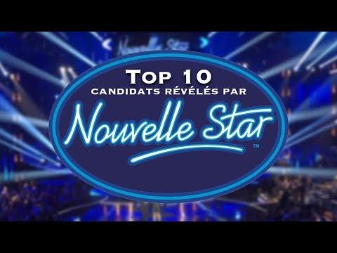 Top 10 des candidats révélés par