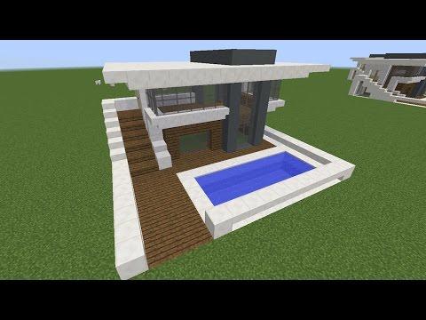 Minecraft: Modern Ev Yapımı