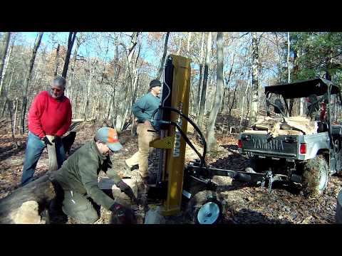 Woods HLS27 Log Splitter Must see, real World use!