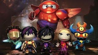 LittleBigPlanet 3 - Big Hero 6 Costumes Showcase - Hiro, Baymax, Go Go Tomago, Wasabi and More