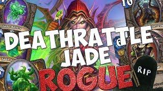IL FOR-FUN DEFINITIVO: DEATHRATTLE JADE ROGUE!!! [HEARTHSTONE ITA]