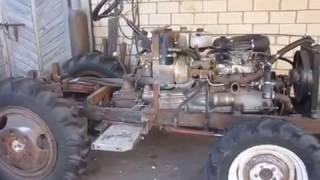 як зробити трактор відео креслення