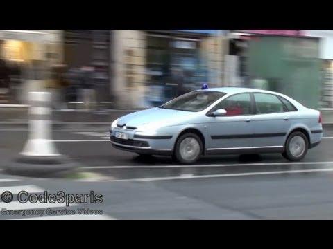Unmarked Police Car Paris // Voiture de police banalisée ...