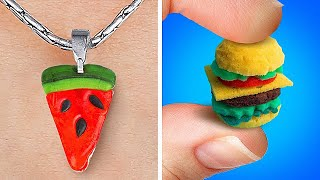 Cute Mini Crafts With Polymer Clay That You Will Adore || DIY Jewelry And Accessories