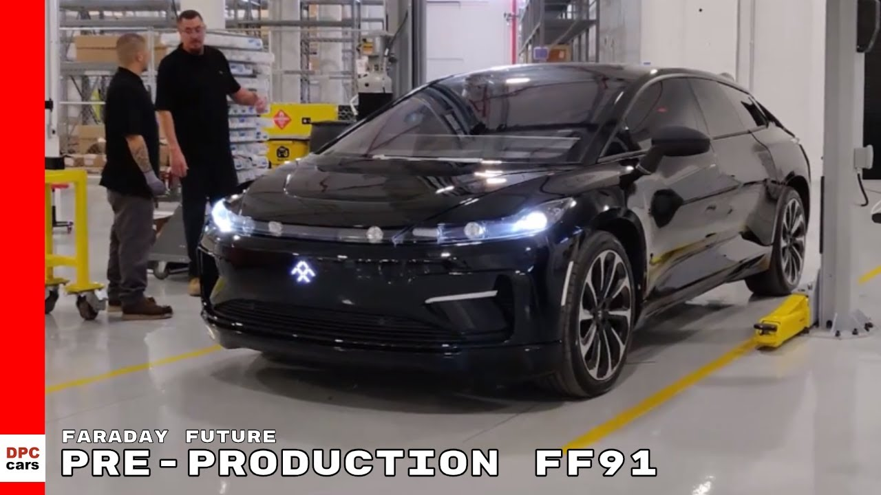 First Electric Faraday Future Pre Production Ff91